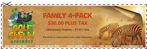 Family 4-Pack Coupon